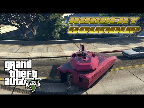 GTA 5 Online PC   Robbery Roundup   TALENT WITH A TANK