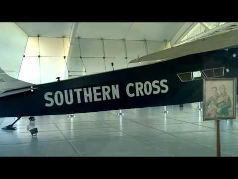 VINTAGE AIRCRAFT - Sir Charles Kingsford Smith SOUTHERN CROSS - Fokker F.VII