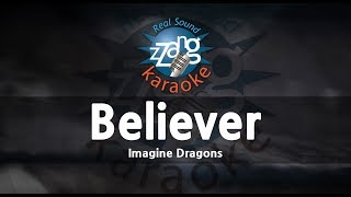 Imagine Dragons-Believer (Melody) (Karaoke Version) [ZZang KARAOKE]