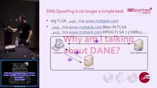 t404 DNS Based Authentication of Named Entities DANE Can we fix our broken CA model Tony Cargile