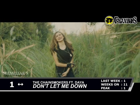 Prambors Top 40 Countdown - Week of August 6,  2016 (Indonesia)