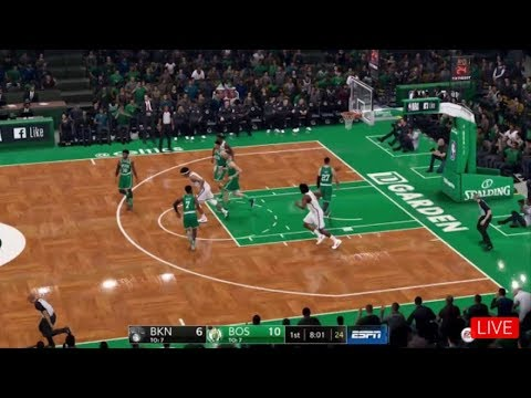 NBA LIVE 19 Nets Vs Celtics LIVE STREAM