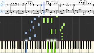 Portugal. The Man - Created  (Piano with sheet music & MIDI)