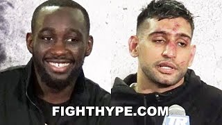"TERENCE CRAWFORD BRUTALLY HONEST FULL POST-FIGHT AFTER BATTER AMIR KHAN, FORCING HIM TO ""QUIT"""