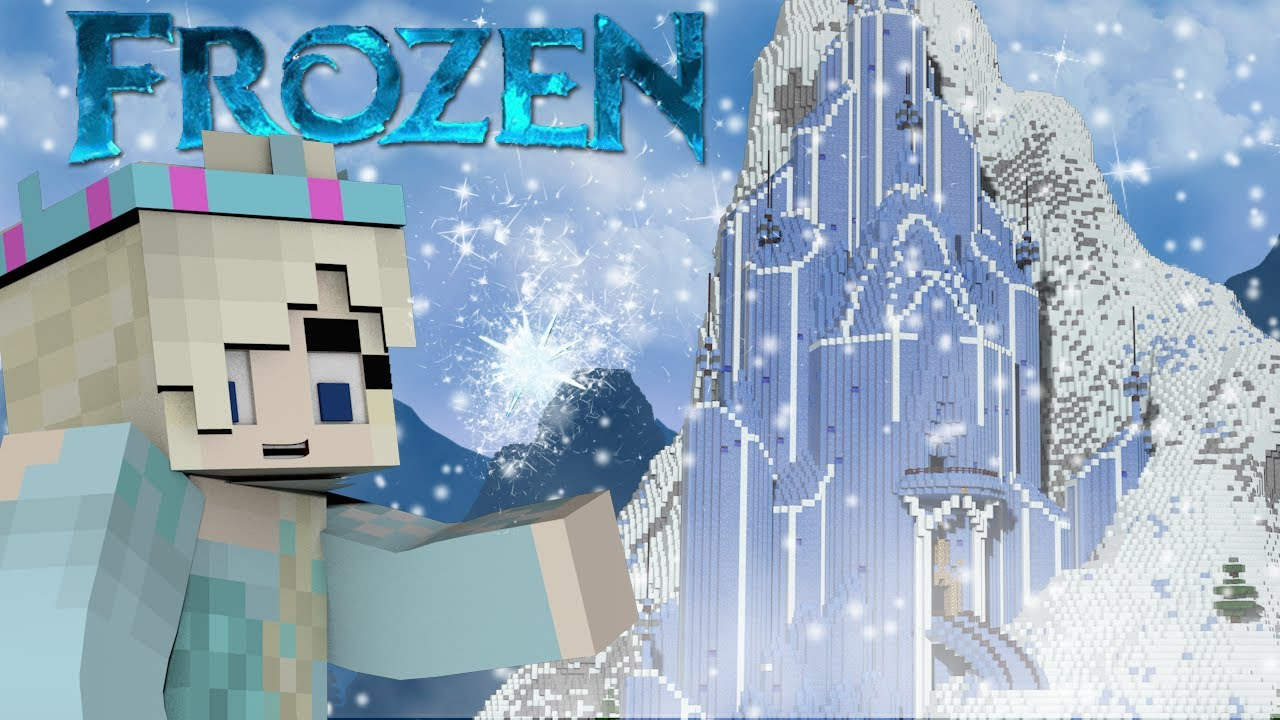 Minecraft Disney Frozen Mod Showcase Elsa Anna Frozen Mod Let - Skin para minecraft pe frozen