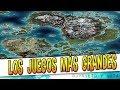 LOS JUEGOS DE MUNDO ABIERTO CON EL MAPA MÁS GRANDE !!!