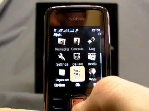 Nokia 8800 Arte SAPPHIRE Copy Dual SIM Dual Standby