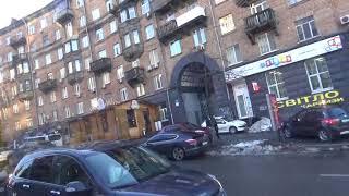 Киев из окна троллейбуса №18