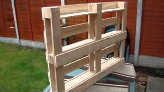 How To Build Bookshelf From Pallets