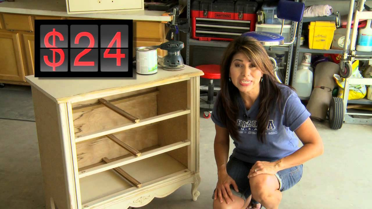 Furniture flip youtube How to renovate old furniture