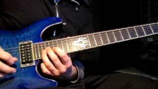 Devin Townsend - Deep Peace (solo) guitar cover
