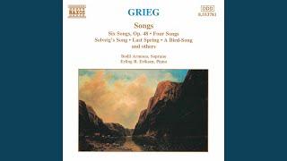 Play 6 Songs, Op. 25 No. 2. A Swan (En Svane) (Bodil Arnesen)