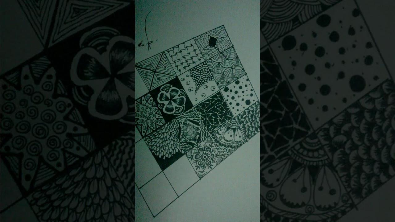 vẽ doodle đẹp nhât chỉ bằng một cay bút long