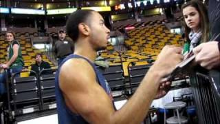NBA Stars Signing Autographs!