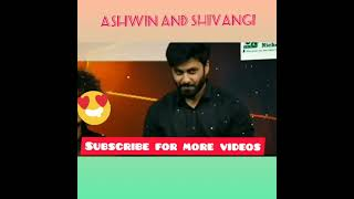 Ashwin And Shivangi Mashup Eye Contact Scence😍😘💞❤💕