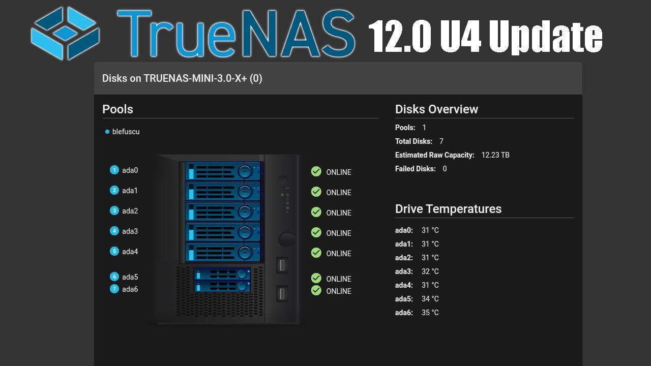 TrueNAS 12.0 U4 Update