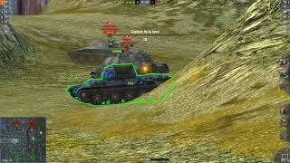 World Of Tanks Blitz Game Play (AMX 50 100) v4.1.0