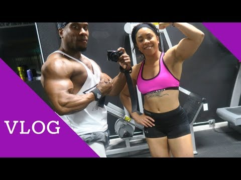 VLOG: Raw Back Training  Home Upgrades  4 Cutting Meals  More Bruno