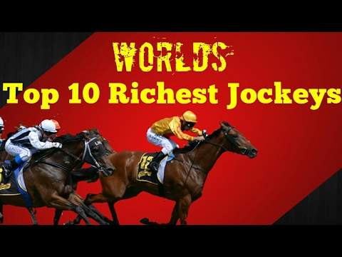 World's best and richest horse racing jockeys 2017|| top 10 rich list||