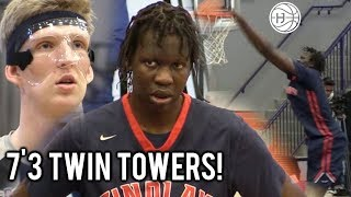 DEMI GOD BOL BOL GOES OFF & 7'3 Connor Vanover GOES MASKED MAMBA MODE AT MONTVERDE INVITATIONAL!!