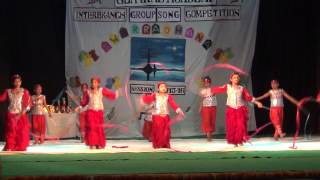 School Kids Ribbon Dance Performance