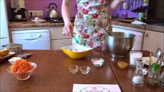 Приготовление морковного кекса