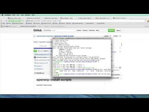 Install Odoo 8 OpenERP on Ubuntu 14 04 & access by Domain Tutorial