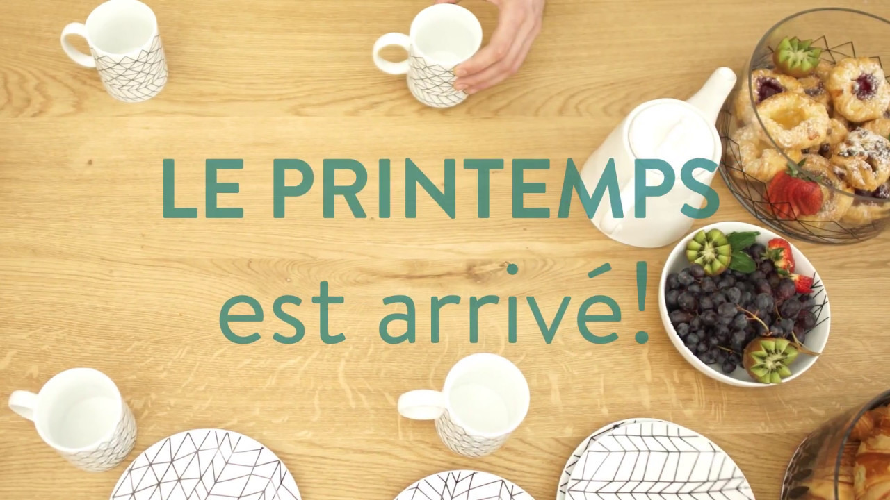 Le Printemps est arrivé! - Collection 2017