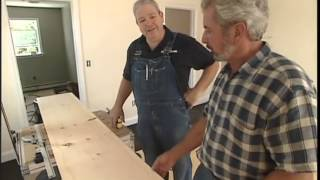 Installing Hardwood Flooring with Screws and Plugs
