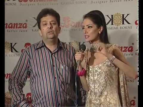 Bonanza Designer Lawn 2012 Red Carpet in Lahore(Part 2)