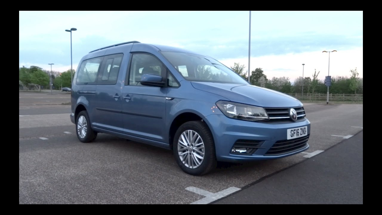 2016 Volkswagen Caddy Maxi Life 2.0 TDI 102 Start-Up and Full ...