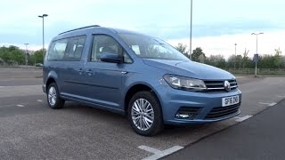 2016 Volkswagen Caddy Maxi Life 2.0 TDI 102 Start-Up and Full Vehicle Tour