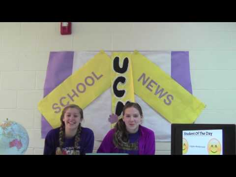 UCMS Morning Announcements 4/5/17