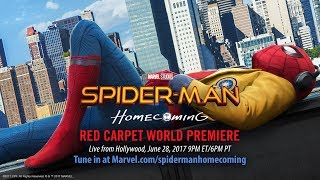 Spider-Man: Homecoming Red Carpet Premiere - Part 1