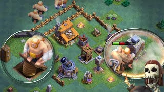 Clash of Clans - INSANE BH3 TROLL BASE! ( Builder Hall Level 3 Base ) Time to Upgrade...