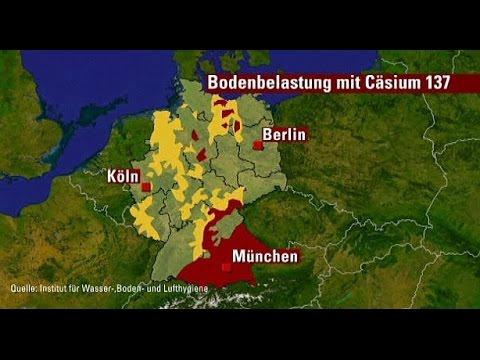 Wolke Tschernobyl Karte.Radioaktive Belastung In Bayern