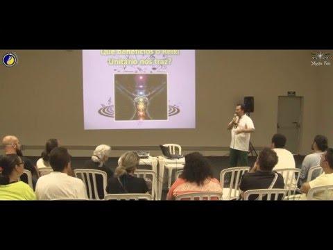 """Palestra Mystic Fair """"Reiki do Som, o Reiki da Nova Era"""" - Mestre Reiki Oriva Mello"""