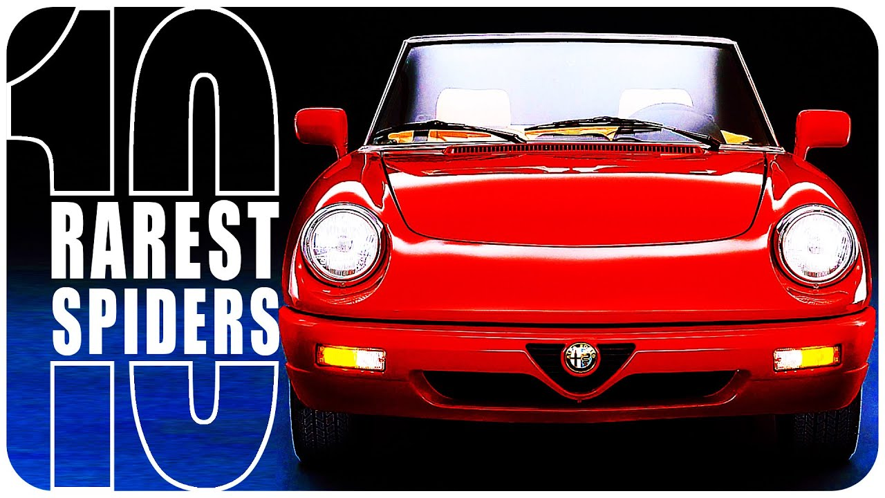 The 10 Rarest Alfa Romeo Spiders
