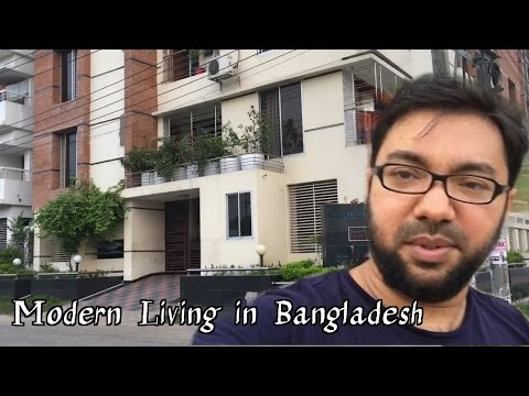 My Trip to Chittagong City, Bangladesh, Modern Living Apartm