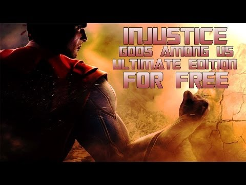 How to Get Injustice Gods Among Us Ultimate Edition For Free For PC! + Gameplay