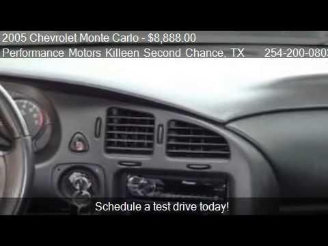 2005 Chevrolet Monte Carlo Lt For Sale In Killeen Tx