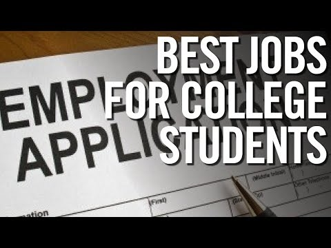 BEST JOBS FOR COLLEGE STUDENTS 🎓 Highest Paying Part-Time Jobs