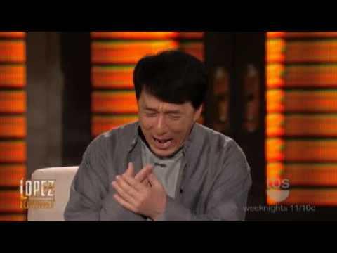 Jackie Chan on Lopez Tonight (1/11/2010)