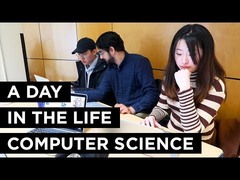 A Day In The Life Of A Computer Science Student
