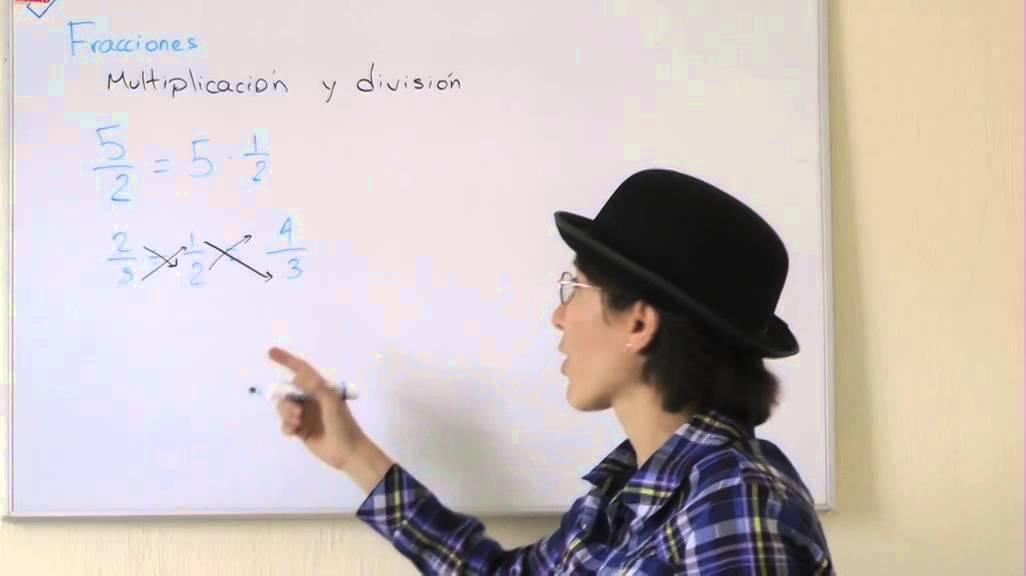 Multipilcación y división de fracciones