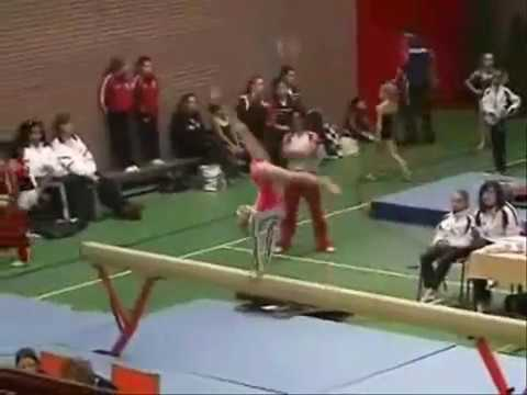 Little gymnasts in the highest level possible