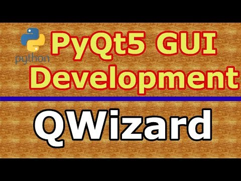 PyQt5 GUI Creating Wizard Page With QWizard