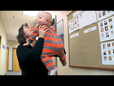 Protecting babies too young for the measles vaccine