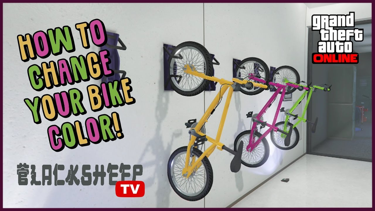 Gta 5 How To Change Bmx Bike Color Easy Online Glitch Tutorial 1 39 Youtube