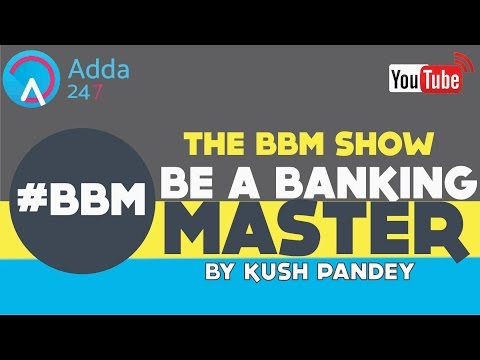 #BBM SHOW - BE A BANKING MASTER Day - 15 BASEL NORMS & OTHER MCQs